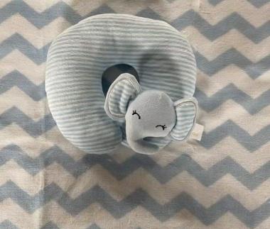 Одеяло 90/75 cm с възглавница Sammy син