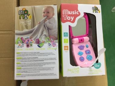 Бебешки Телефон с Капаче Pink K999-95G