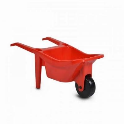 Строителна количка червен 10278