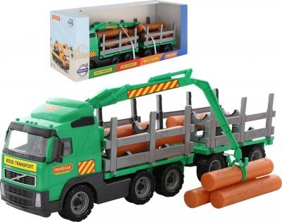 Камион с дървени трупи Volvo 9500