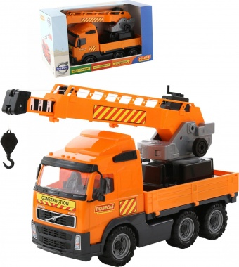 Камион с кран Volvo 58317