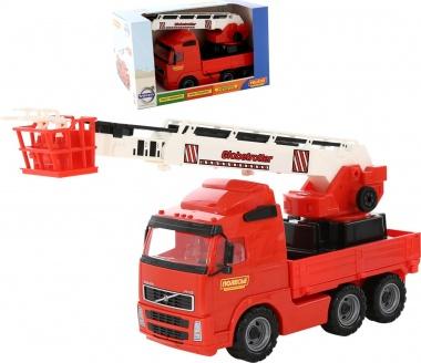 Пожарен автомобил с кран Volvo 58379