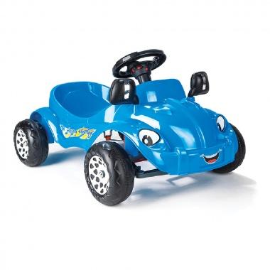 Кола с педали Happy Herby син 07303