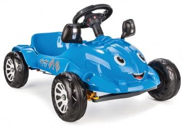 Кола с педали Herby син 07302