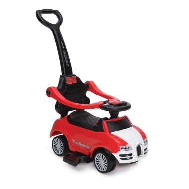 Кола с дръжка Rider червен QC2281