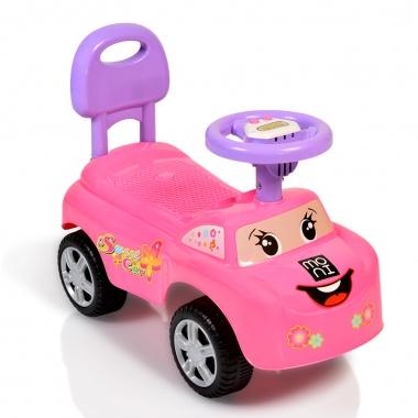 Кола за бутане Keep Riding розов 618A