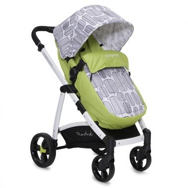 Комбинирана количка Rachel зелен 2017