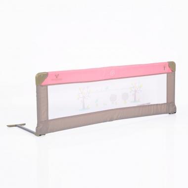 Преграда за легло 130x43.50 cm розов
