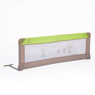 Преграда за легло 130x43.50 cm зелен