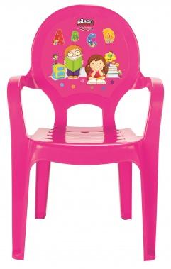 Стол с цифри розов 03412