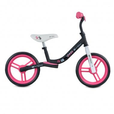 Велосипед балансиращ Zig Zag розов