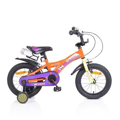 Детски велосипед 14 Rapid оранжев