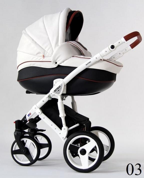 Бебешка количка Retrus Alpina 2в1 3