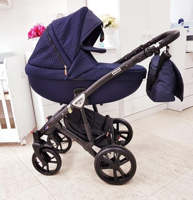 Бебешка количка Retrus Milano 3в1 3