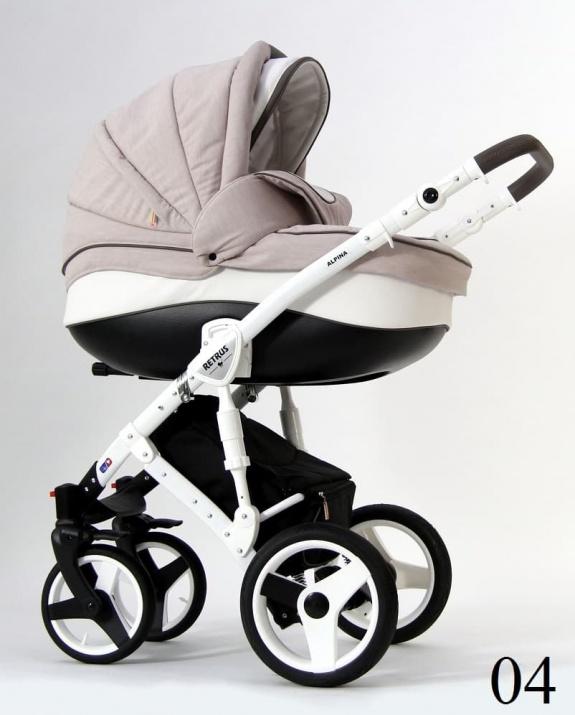 Бебешка количка Retrus Alpina 2в1 4