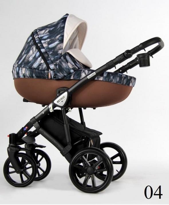 Бебешка количка Retrus Milano 3в1 4