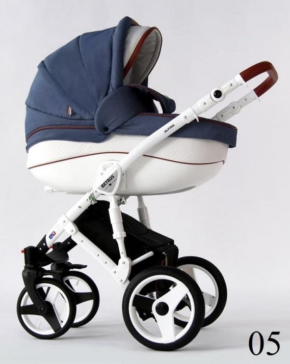 Бебешка количка Retrus Alpina 2в1 5