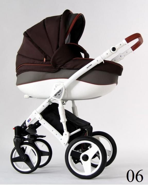 Бебешка количка Retrus Alpina 2в1 6