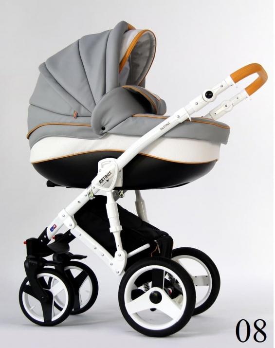 Бебешка количка Retrus Alpina 2в1 8