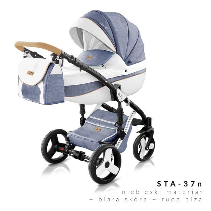 Milu Kids - Бебешка количка 2в1 Starlet plus 37