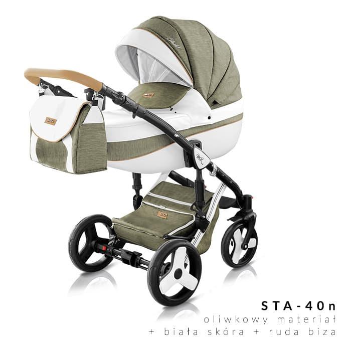 Milu Kids - Бебешка количка 2в1 Starlet plus 40