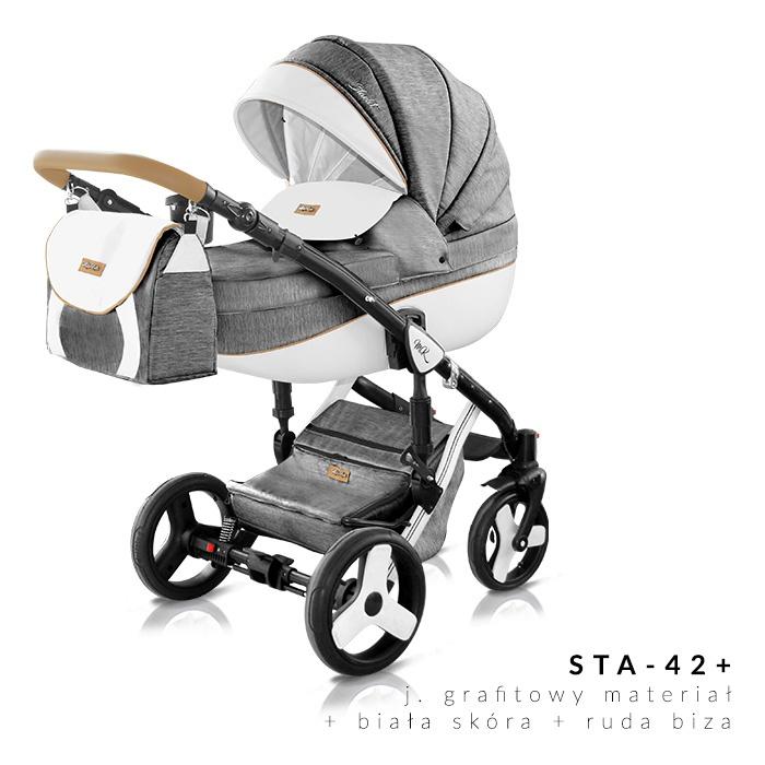Milu Kids - Бебешка количка 2в1 Starlet plus 42