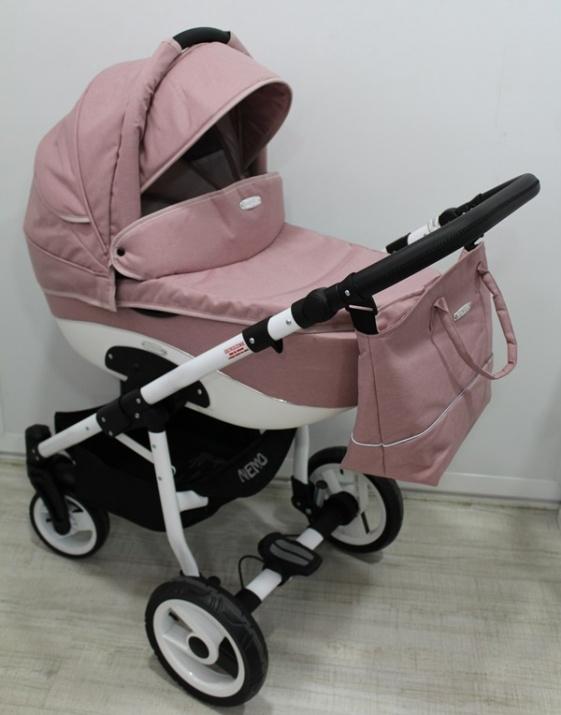 Adbor - Бебешка количка Nemo len 3в1 OW02