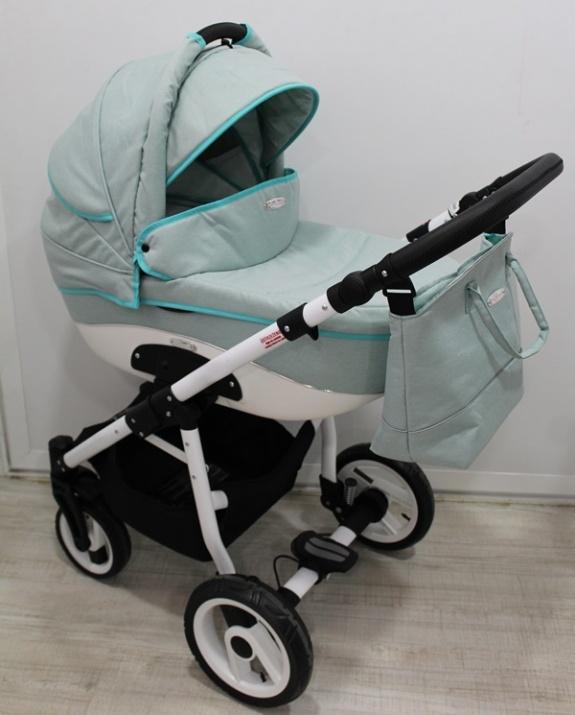 Adbor - Бебешка количка Nemo len 3в1 OW04