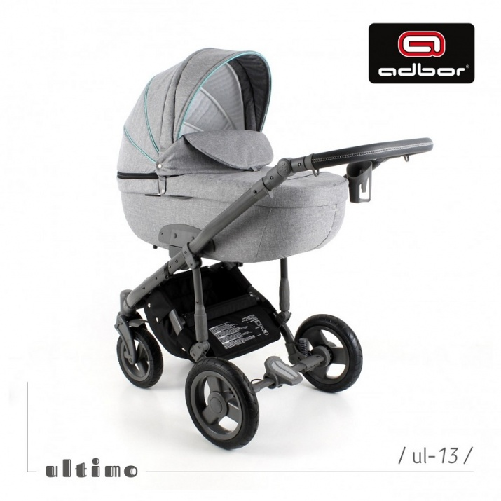 Adbor - Бебешка количка 3в1 Zarra Ultimo UL13