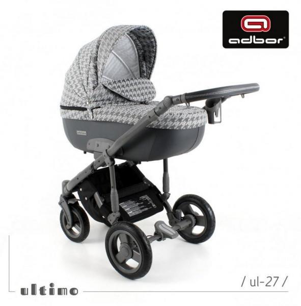 Adbor - Бебешка количка 3в1 Zarra Ultimo UL27