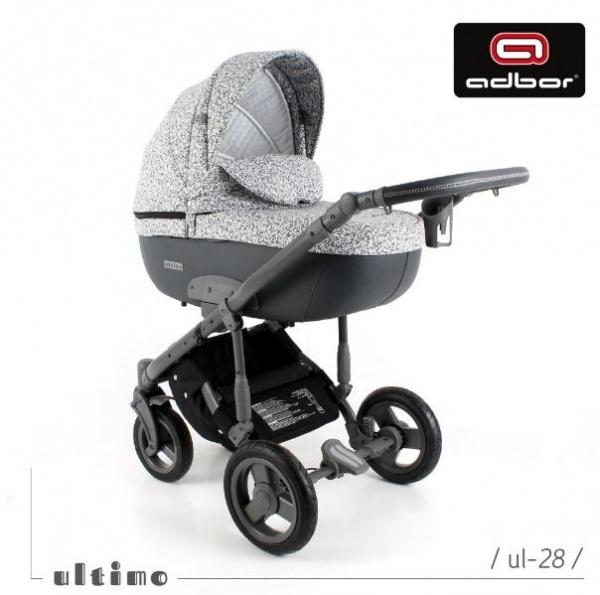 Adbor - Бебешка количка 3в1 Zarra Ultimo UL28