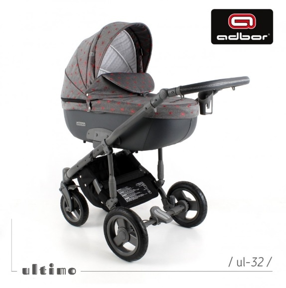 Adbor - Бебешка количка 3в1 Zarra Ultimo UL32