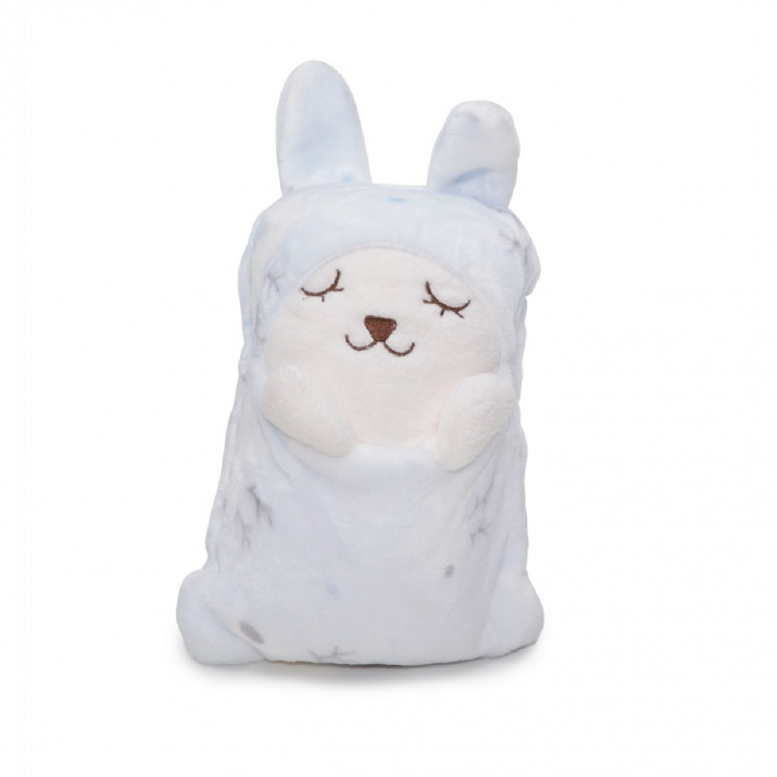 Одеяло 140/90 cm Puffy син