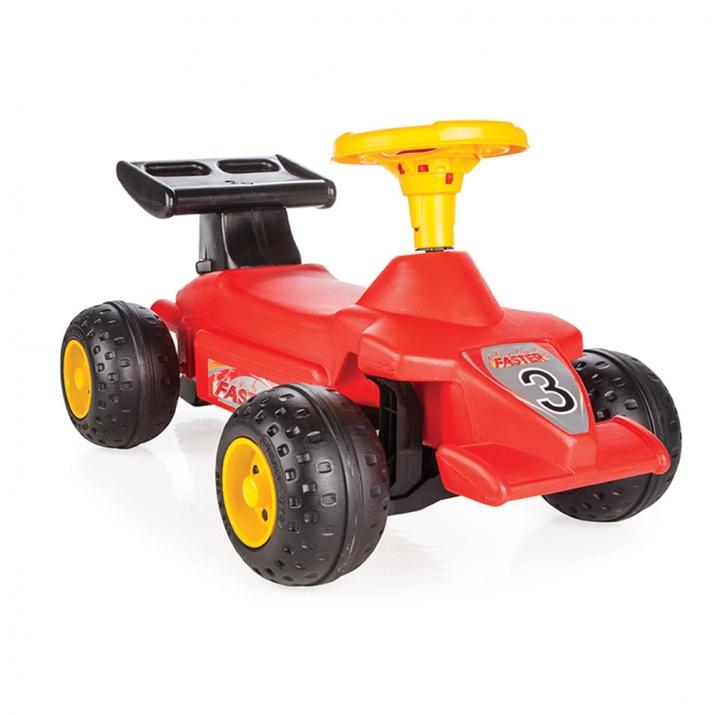 Кола за бутане Формула червен 06808