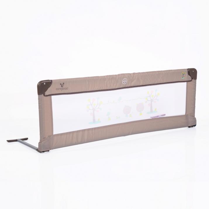 Преграда за легло 130x43.50 cm бежов