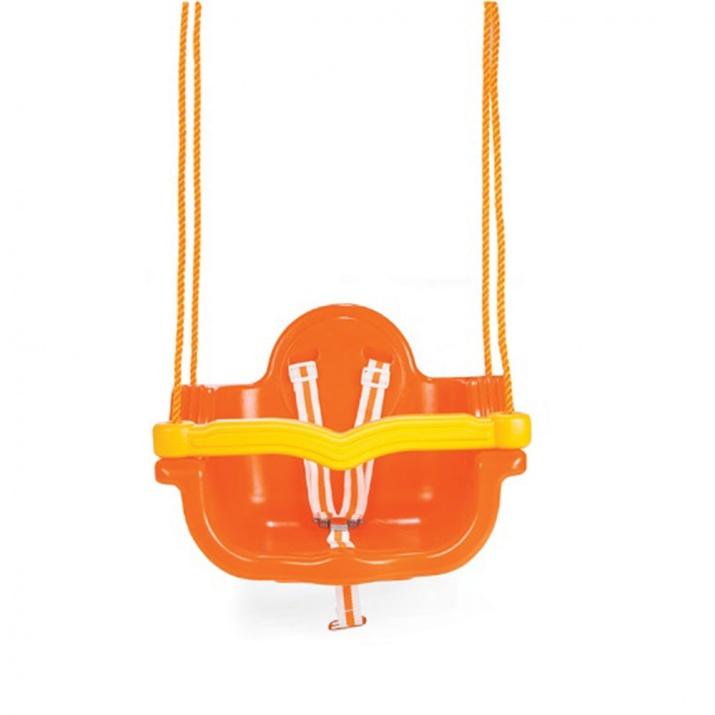 Люлка с въжета Jumbo оранжев 06138