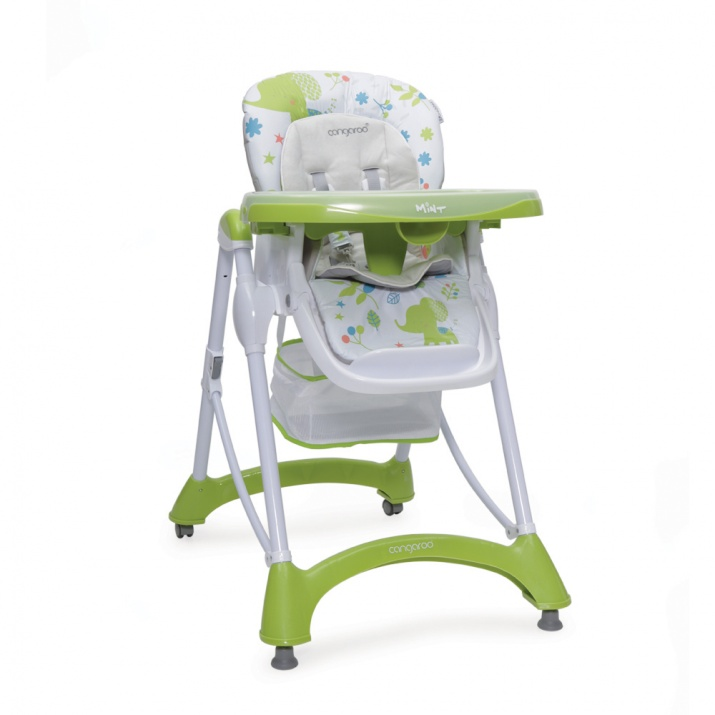Стол за хранене Mint зелен