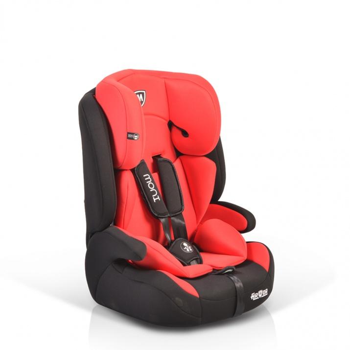 Стол за кола Armor червен