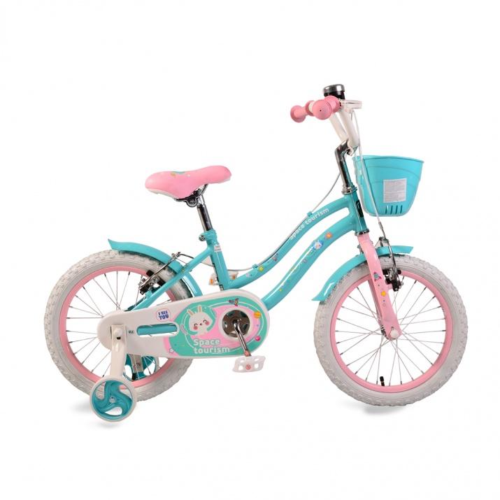 Детски велосипед 1683 тюркоаз