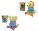 Мека играчка слон 81018AB
