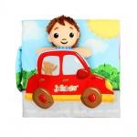 Мека книжка Малък шофьор J8149-4