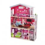 Дървена Къща за кукли с асансьор Isabella 4118
