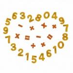 Магнитни знаци и цифри (30 части) 70647