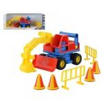 Багер с конуси Cons Truck 37701