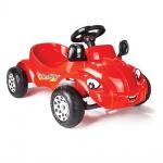 Кола с педали Happy Herby червен 07303