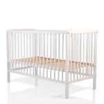 Дървено легло Milky way бял