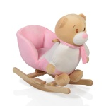 Люлка плюшена Bear розова
