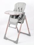 Стол за хранене Aspen 2 в 1 сив