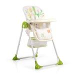 Стол за хранене Hunny зелен