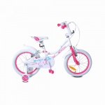 Детски велосипед 16 Little Princess бял